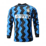 Camiseta Inter Milan 1ª Manga Larga 20/21