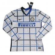 Camiseta Inter Milan 2ª Manga Larga 20/21