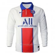 Camiseta Paris Saint-Germain 2ª Manga Larga 20/21