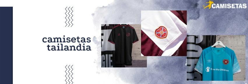 camiseta Heart of Midlothian tailandia 20/21